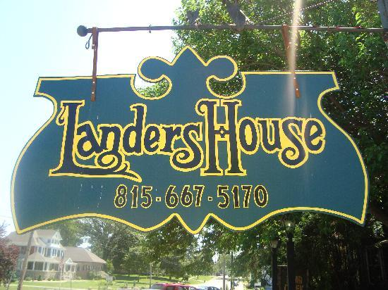 Landers House: Utica, IL. - Lander's House Review