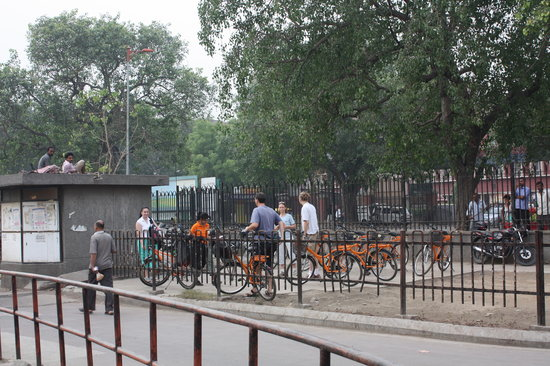 DelhiByCycle : meeting point