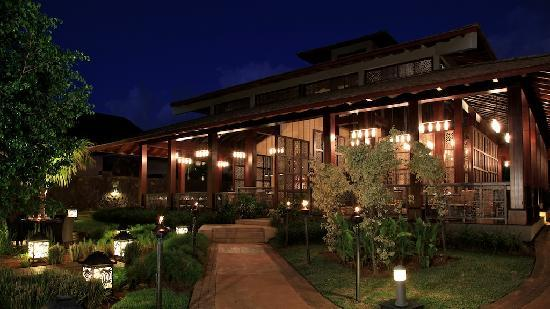 InterContinental Mauritius Resort Balaclava Fort: Night Pic