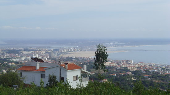 Figueira da Foz, Portugal: view over the town