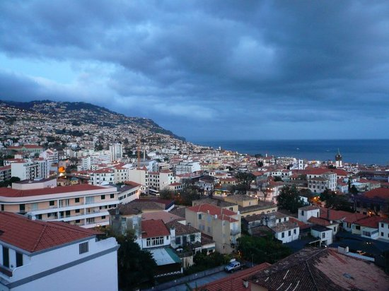 Madeira, Portugal: Funchal from my hotel window