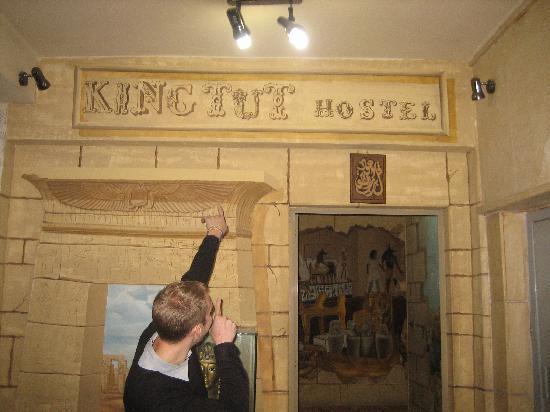 King Tut Hostel: Words not needed