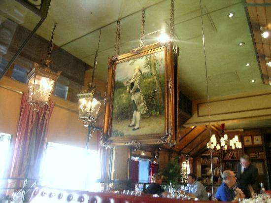 Le Procope: Procope e il nostro tavolo