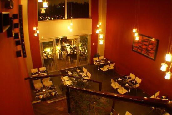 Santa Catarina Pinula, Γουατεμάλα: restaurante de adentro
