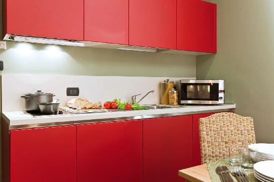 Residence Petronio: Angolo cottura. Trilocale