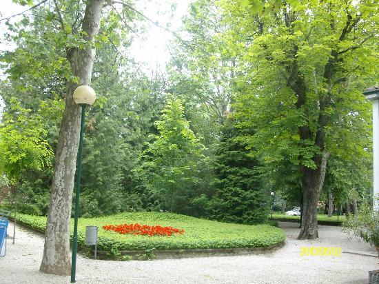 Grand Hotel Terme : Parco Termale