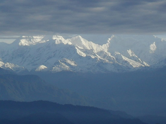 Broadway Hotel: Kanchenjunga from the balcony