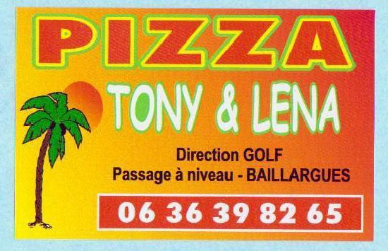 A pizza Tony et Lena : 06 36 39 82 65