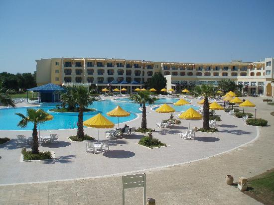 Ramada Plaza Tunis : View from our balcony