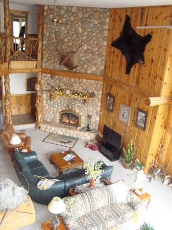 Imnaha, Oregón: The main room/living area