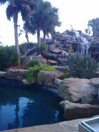 The San Luis Resort: Slide area at pool