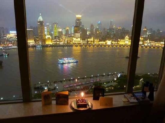 Pudong Shangri-La, East Shanghai: I had a great birthday in the River Wing