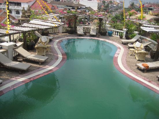 Hotel de Ville Siem Reap Boutique: Rooftop Pool