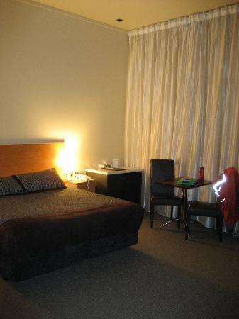 Quest Invercargill: Inside the hotel room