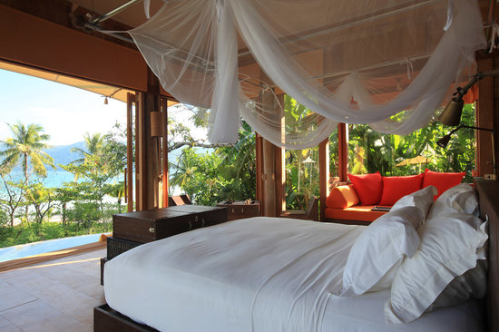 Soneva Kiri: Beach Villa Bedroom