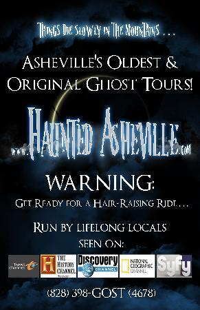 Haunted Asheville Ghost Tours: We're back......