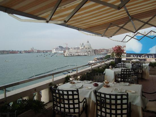 Restaurant Terrazza Danieli : The view from the terrace