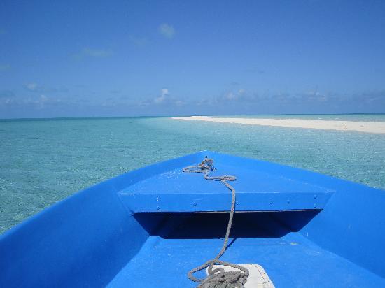 Grand Isle Resort & Spa : At the Sandbar on Patterson's Boat