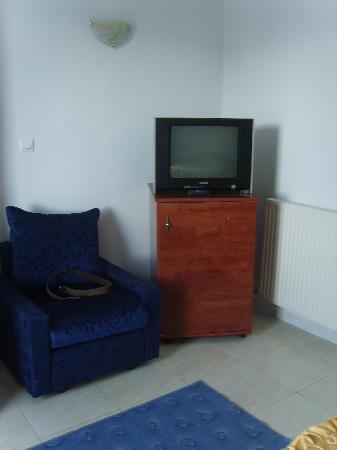 Hotel El Faracha: TV et frigo