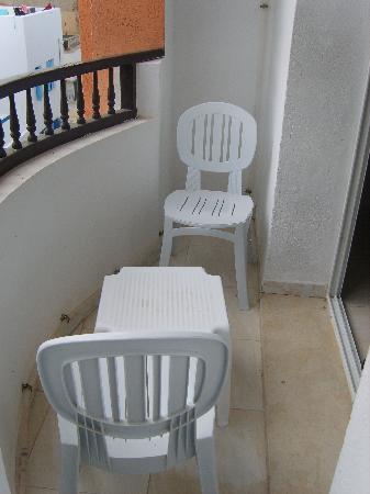 Hotel El Faracha: terrasse