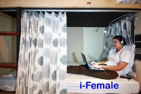 Ibed Chic & Stylish Backpacker Hostel: i-FEMALE