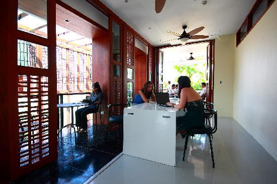 Ibed Chic & Stylish Backpacker Hostel: living area