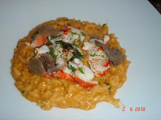 Vogue: Risotto with Truffles and Lobster