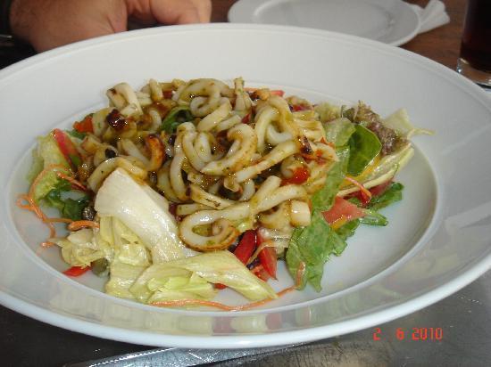 Vogue: Squid Salad