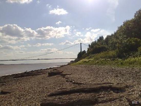 Humber Bridge from Hessle Forshore