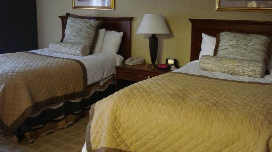 Wyndham Boca Raton: Our beds