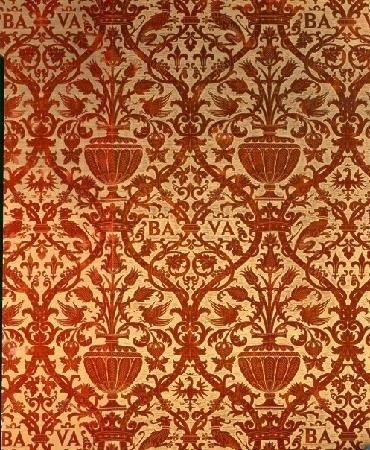 Museo Bagatti Valsecchi: Tapezzeria del Salone