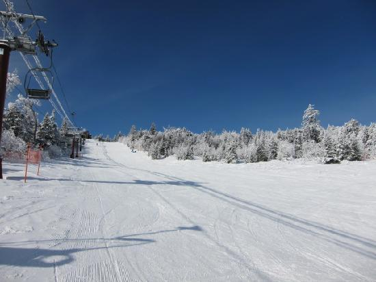 Palcall Tsumagoi Ski Resort : コースはなかなか快適!!