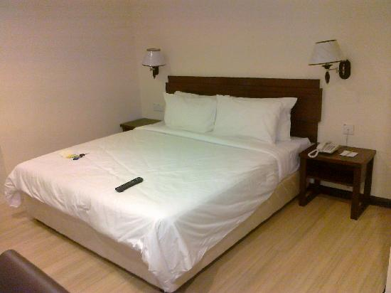 Butterworth, Malaysia: Confortable Bed