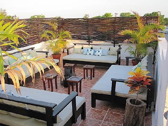 بوسادا لونا ديل سور: Rooftop Deck