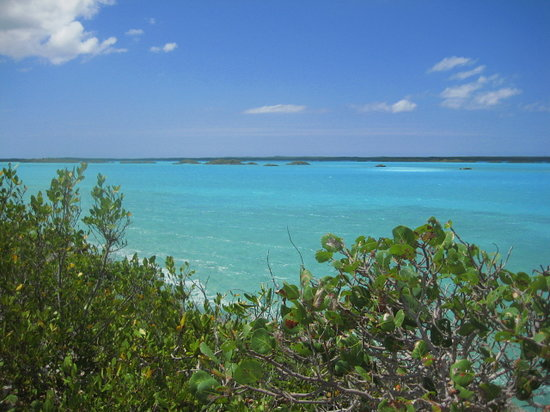 Grace Bay, Providenciales: blue lagoon
