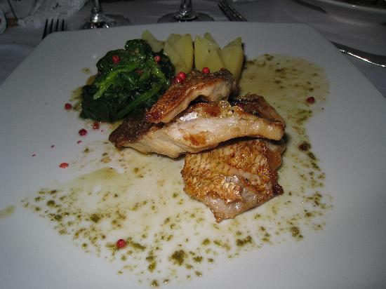 Local fish picture of ambrosia restaurant oia tripadvisor for Local fish restaurants