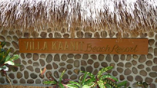 Beach Resort Villa Kaanit: Eingang
