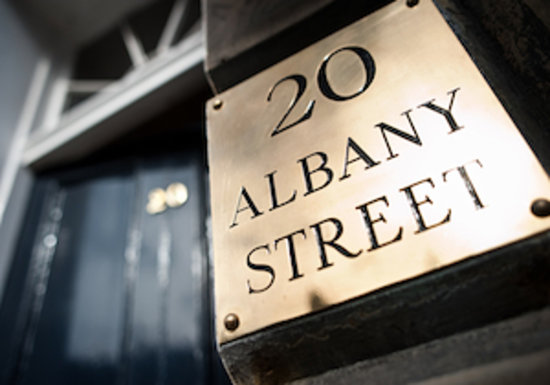 20 Albany Street: Exclusive Georgian Townhouse in prime New Town location