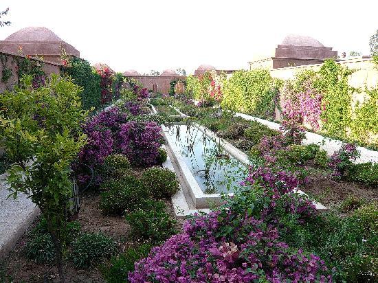 Villa d'Akhdar: Jardins intérieurs à découvrir
