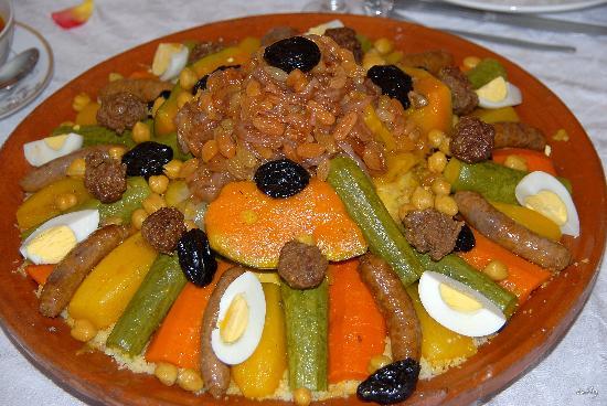 Villa d'Akhdar: Une cuisine exceptionnelle