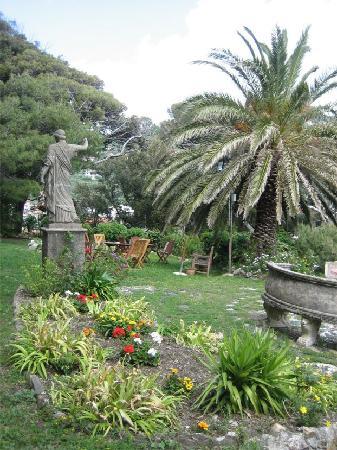 Castello di Monleone : Part of the garden