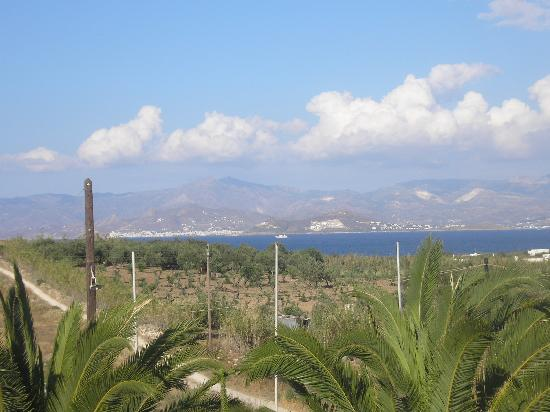 Asteras Paradise: view from our room to naxos