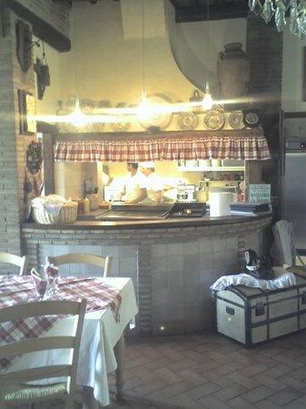 Trattoria-Pizzeria-Enocacioteca il Moderno: La Cucina