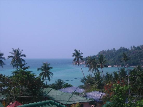 "JP Resort: View from our ""duplex bungalow"" LOL"