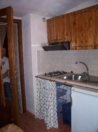 L Angolo Cucina Con Porta Finestra Sul Patio Direttamente Sulla