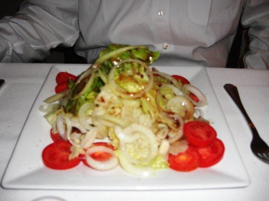 Francesco Barbera Ristorante : Mixed green salad