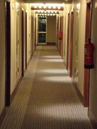 Novotel Barcelona City: The Corridor.