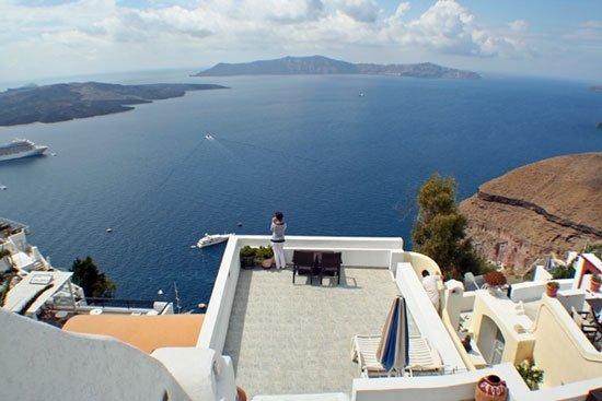 Villa Renos: View from patio