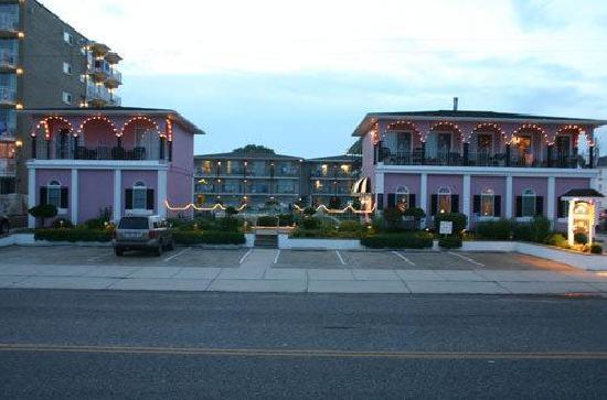 Periwinkle Inn: from across the street