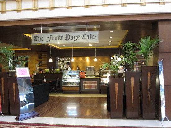 """Pearl Continental Hotel Rawalpindi: The """"Front page cafe"""" at the lobby"""